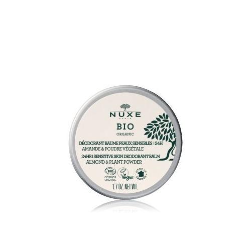 NUXE Bio 24Hr Sensitive Skin Deodorant Creme 50 g