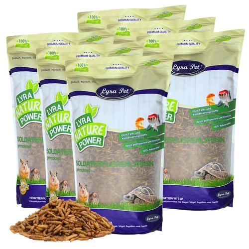 15 kg ® Soldatenfliegenlarven - Lyra Pet