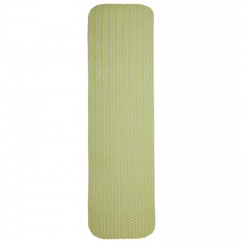 Big Agnes - Twistercane Bio Foam Pad - Isomatte Gr 20x72 cm Grün/Beige