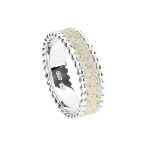 Ring - Strandzauber Strandsand Silber 925/000 , DUR silber