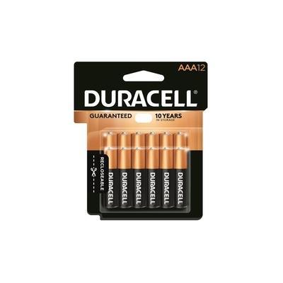 Duracell CopperTop Battery - For Smoke Alarm, Lantern, Flashlight, Calculator, Pager, Door Lock, Camera, Recorder, Radio, CD Player, Medical Equipment, ... - AAA - Alkaline - 144 / Carton - DURMN24RT12ZCT