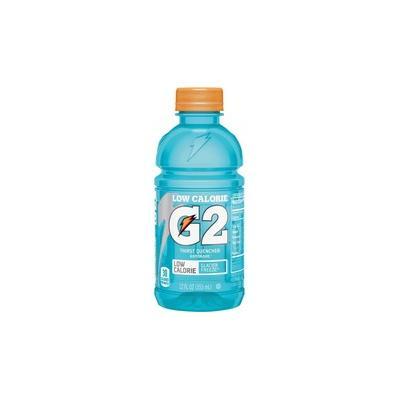 Gatorade Low-Calorie Gatorade Sports Drink - Glacier Freeze Flavor - 12 fl oz (355 mL) - Bottle - 24 / Carton - QKR12007