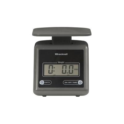 Brecknell Electronic 7lb Postal Scale - 7.24 lb / 3.29 kg Maximum Weight Capacity - Gray - SBWPS7GRAY