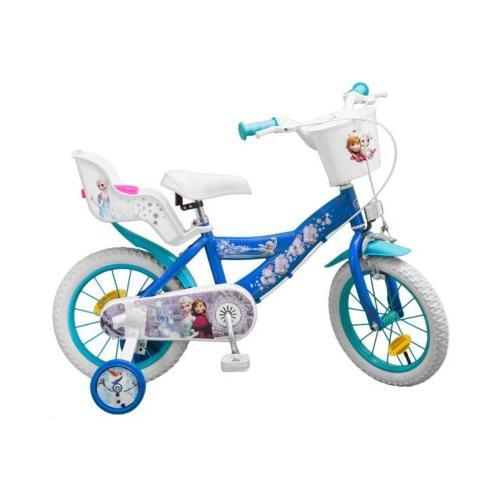 Fahrrad 14 Zoll Disney Eiskönigin blau/weiß