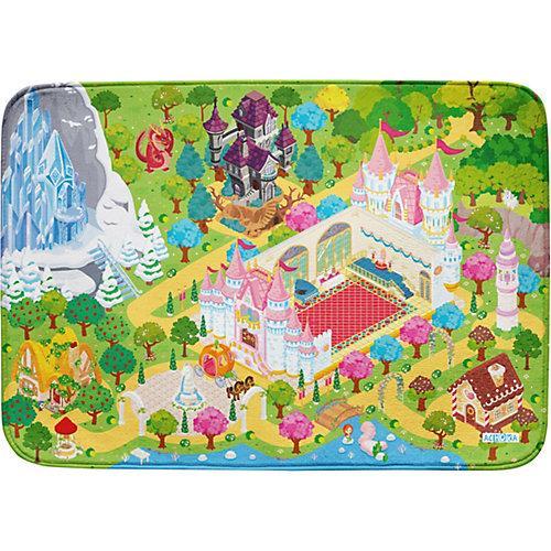 Spielmatte 100x150 - extra weich - Traumschloss bunt