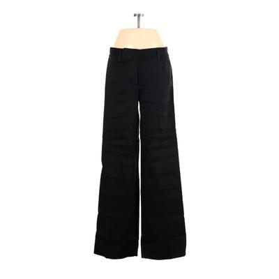 DKNY Dress Pants - Mid/Reg Rise: Black Bottoms - Size 6