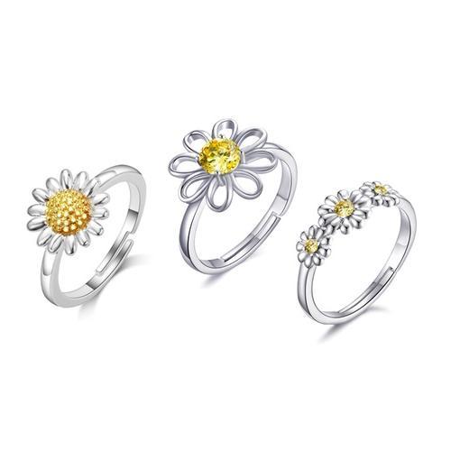 Philip Jones Ring: 1/ Zweifarbiges Gänseblümchen