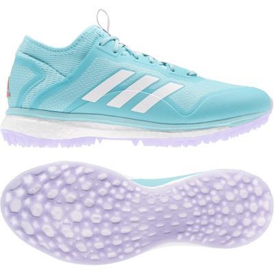 adidas Fabela X Empower Women's Field Hockey Shoes Aqua/White