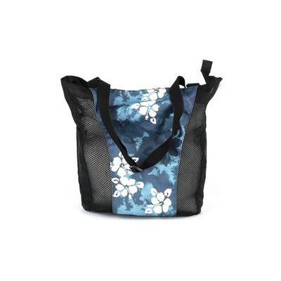 Unbranded - Tote Bag: Blue Color Block Bags