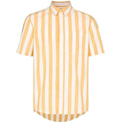 WOOD WOOD Michael Hemd mit breiten Streifen