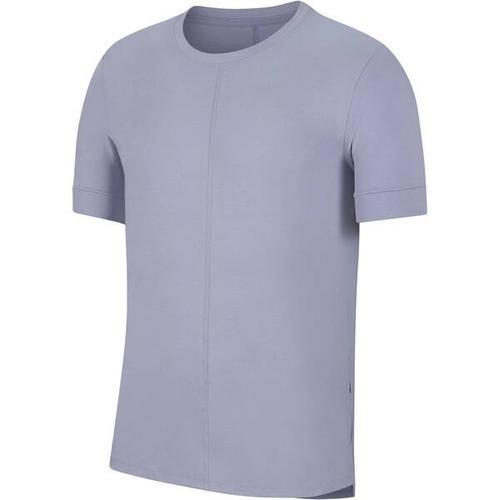 NIKE Herren Yoga T-Shirt Nike Yoga Dri-Fit, Größe XL in Grau