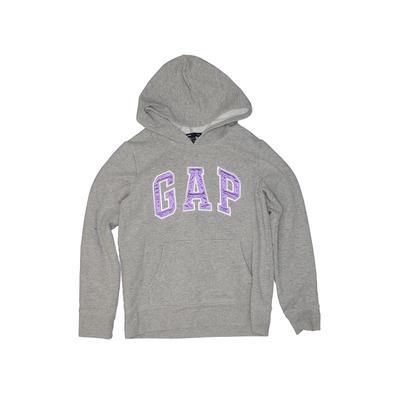Gap Kids - Gap Kids Pullover Hoodie: Gray Tops - Size 10