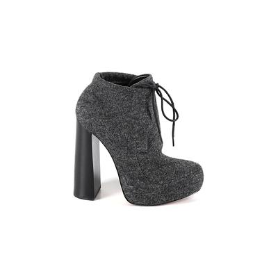 Alexander Wang Ankle Boots: Gray Shoes - Size 36