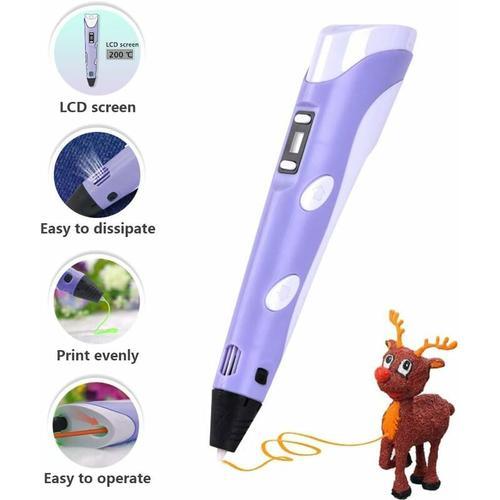 3D-Drucker-Stift - 1,75 mm ABS und PLA kompatibler 3D-Drucker-Stift