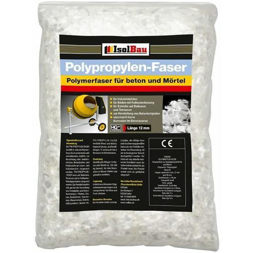 Isolbau - Polypropylenfasern Glasfasern für Estrich Betonfasern Mörtel 100 kg Beton-Fasern