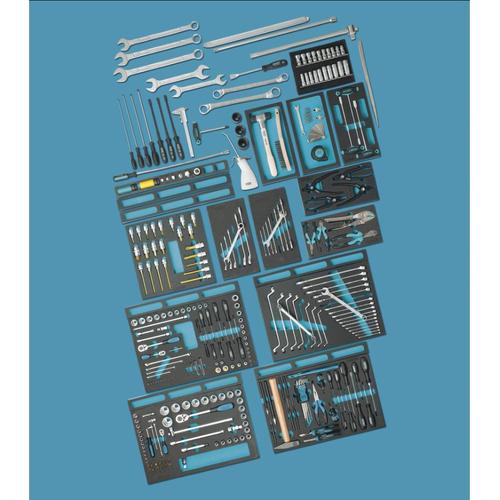 YATO Werkzeugset YT-38881 Werkzeugsatz,Steckschlüsselsatz,Werkzeug Set,Werkzeug Kit
