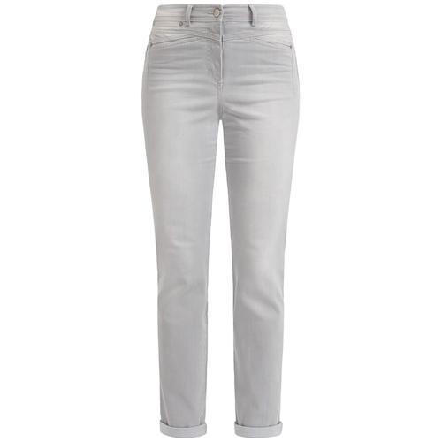 Jeans RECOVER Pants SILBERGRAU