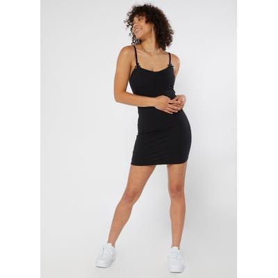 Rue21 Womens Black Corset Cup Bodycon Mini Dress - Size M