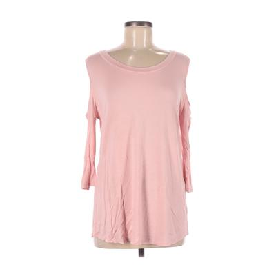 7th Roy Long Sleeve Top Pink Sol...