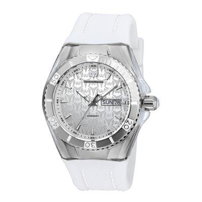 TechnoMarine Cruise Monogram 44mm watch with Silver dial 517 Quartz - Model TM-115209