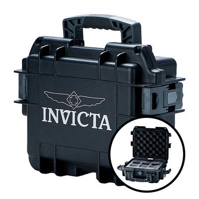 Invicta 3 Slot Impact Case - Model DC3BLK