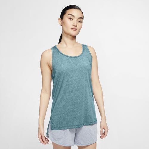 Nike Yogatop Yoga Women's Tank blau Damen Trägertops Tops