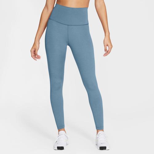 Nike Yogatights Women's Yoga 7/8 Tights blau Damen Hosen Knöchelhose