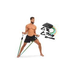 Set comprenant 5 élastiques de fitness : x2