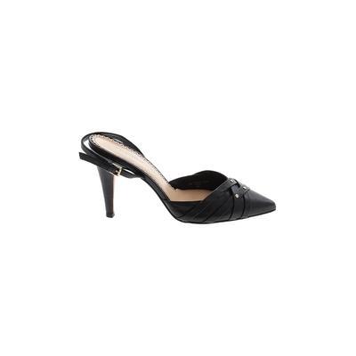 Johnston & Murphy Heels: Black Solid Shoes - Size 9