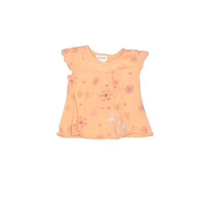 Naartjie Kids - Naartjie Kids Sleeveless T-Shirt: Orange Floral Tops - Size 12-18 Month