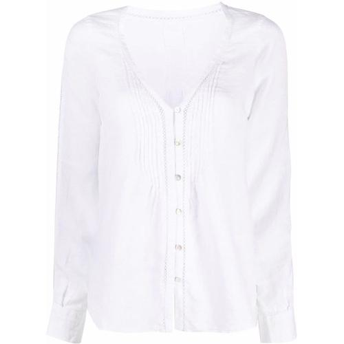 120% Lino Leinenhemd mit Falten