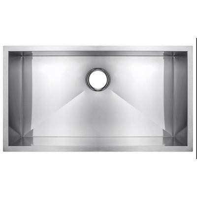 27-in. W CUPC Approved Brushed Nickel Kitchen Sink With Brushed Nickel Finish And 18 Gauge - American Imanginations AI-29369