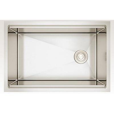 27-in. W CSA Approved Stainless Steel Kitchen Sink With Stainless Steel Finish And 16 Gauge - American Imanginations AI-29294