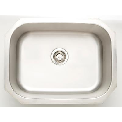30-in. W CSA Approved Stainless Steel Kitchen Sink With Stainless Steel Finish And 18 Gauge - American Imagination AI-27627