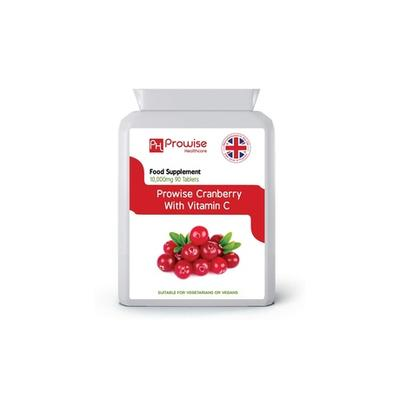 90 Tablets of Cranberry with Vit...