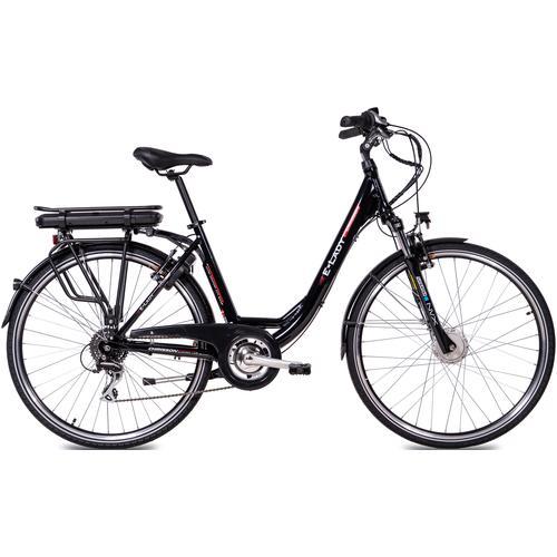 Chrisson E-Bike E-LADY, 8 Gang, Shimano, RD-M360-SGS, Frontmotor 250 W schwarz E-Bikes Fahrräder Zubehör
