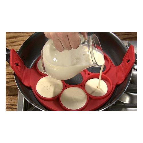 Silikon-Pancake-Form: 2