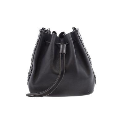 Rebecca Minkoff - Rebecca Minkoff Leather Shoulder Bag: Black Solid Bags
