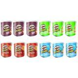 12 40g Cans Pringles Crisps: Ori...