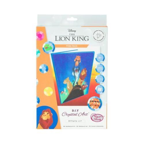 Crystal Art Disney König der Löwen - Pride Rock, Kristallkunst-Notizbuch