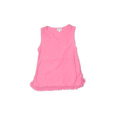 Splendid Tank Top Pink Solid V Neck Tops - Used - Size 5