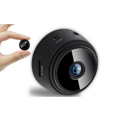 Mini WiFi Security Camera: Black...