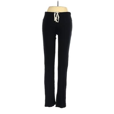 Pink Blush Casual Pants - Low Rise: Black Bottoms - Size Small