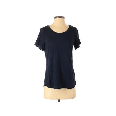 Maurices Short Sleeve Top Blue S...