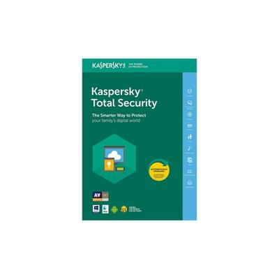 Kaspersky Total Security 2021 : 1 PC / 1 an
