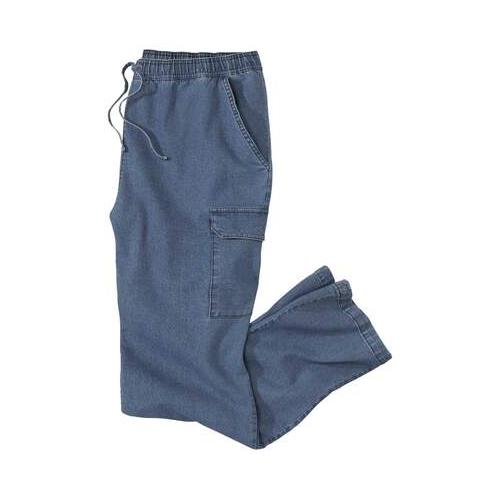 Jeans Entspannung im Cargo-Look