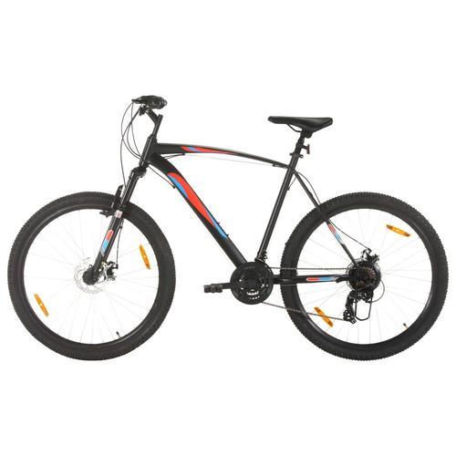 vidaXL Mountainbike 21 Gang 29 Zoll Rad 53 cm Rahmen Schwarz
