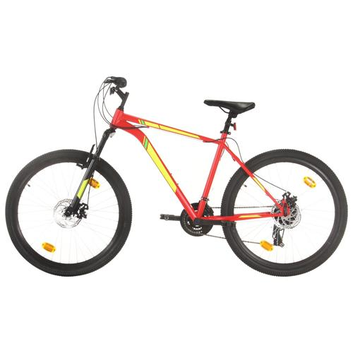 vidaXL Mountainbike 21 Gang 27,5 Zoll Rad 50 cm Rot