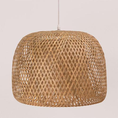 Deckenleuchte aus Bambus (Ø45 cm) Debi Bambus Natürlich - Natürlich - Sklum