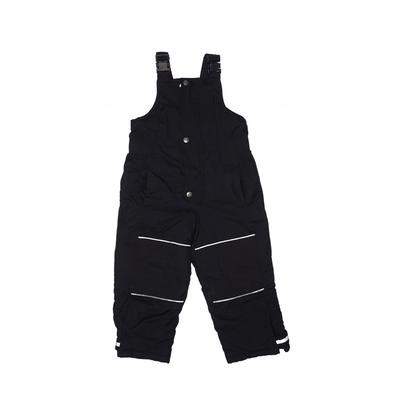 Hanna Andersson Snow Pants With Bib - Adjustable: Black Sporting & Activewear - Size 100